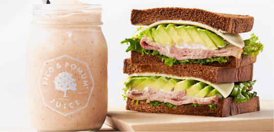 Smoothies & Sandwiches